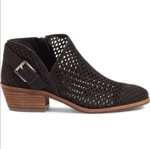 Vince Camuto Phandra perforated bootie